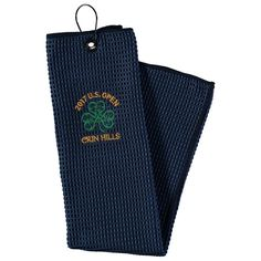 "Navy 2017 U.S. Open 16"" x 25"" Embroidered Logo Microscrubber Golf Towel - $15.99"