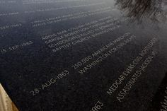 Civil Rights Memorial, Montgomery, Alabama