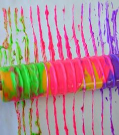 art-activities-for-kids-with-yarn-and-color