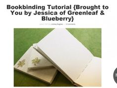 Learn how to make a variety of long-stitch bound books. The long-stitch bookbinding method is simple and easy to learn and fun to follow.