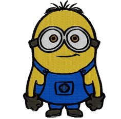 Minion Machine Embroidery Pattern