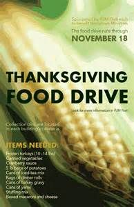 food drive poster - Bing images