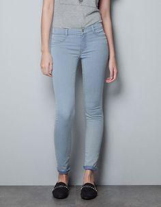 JEGGING DENIM - Jeans - TRF - ZARA