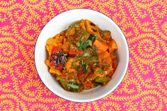 Vegetable Jalfrezi is  an Indian version of Chinese stir fry and made with spices. The great thing about this curry is that it is slightly #sweet and #spicy at the same time. For #Jalfrezi, the vegetables must be dense, yet neither starchy nor watery. #vegetariandish #food #testydish #yummy