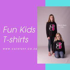 visit www.catstuff.co.za for a range of lovely kids long and short sleeve t-shirts Cool Kids, Range, Posts, Sleeve, Fun, T Shirt, Black, Fashion, Manga