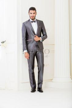 NO 4114-16 #sposo #groom #suit #abito #wedding #matrimonio #nozze #grigio #grey