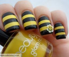 If I ever grow my nails Im doing this :)