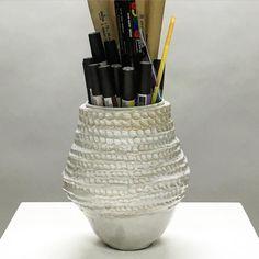 Vase 01 another finished ceramics piece #glazing #ceramics #pottery #clay #ceramicart #learnsomethingnew #potteryclass #ceramicsclass #handmade #handmadepots #londonlife