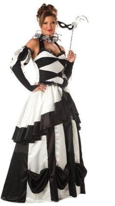 Amazon.com: Carnival Queen Adult Costume: Clothing masquerade dress