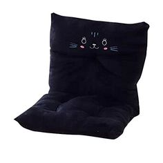 Outdoor Cushions  HGD Cartoon Characters Indoor/outdoor High Back Rocking Chair Cushion Thick Good for Backrest (Black Cat) Balcony