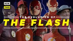 The Evolution of The Flash's Costume   Yellow Spandex   NowThis Nerd The Flash...  For the inaugural episode of her new series 'Yellow Spandex,' Kya Quinn critiques the costumes of every live-action incarnation of the Flash! » Subscribe to NowThis Nerd:... The Evolution of The Flash's Costume   Yellow Spandex   NowThis Nerd