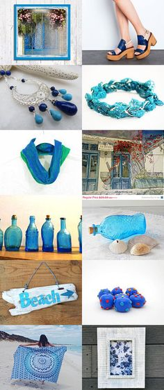 Blue Spring collection by Tatin on Etsy--Pinned+with+TreasuryPin.com