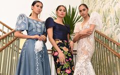 90 terno designs to be showcased in new exhibit Modern Filipiniana Gown, Filipiniana Wedding Theme, Miss Pageant, Princess Style Wedding Dresses, Filipino Fashion, Pageant Dresses, Formal Wear, Baro't Saya, Designer Dresses
