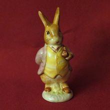Beswick Beatrix Potter Mr. Benjamin Bunny. My sister got me hooked on these tiny rabbits.  Thanks Min.