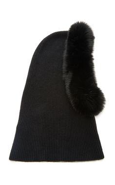 fbc2a81d503c7 Paulina Fur-Trimmed Cashmere Pullover Beanie by EUGENIA KIM Now Available  on Moda Operandi Ski