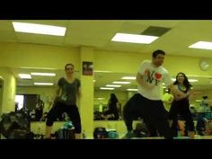 ▶ Zumba Step Choreography - Rocking with the Best - YouTube