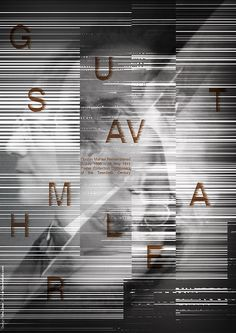 Poster series For celebrating contemporary composers - Graphis