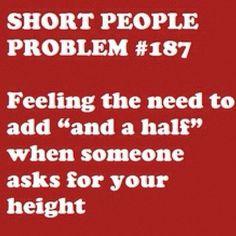 Short Girl Struggles
