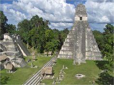 Tikal ancient ruins
