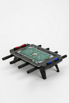 iPad Foosball Game #urbanoutfitters. I would NOT do this to my iPad, tho!!!#ipad stylus#ipad 1#ipad 2 cases#ipads#refurbished ipad#ipad cases#ipad 3#ipad 4