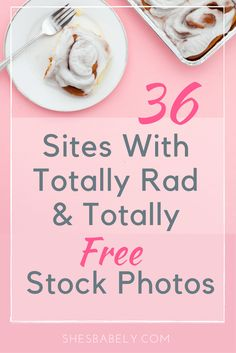 36 Sites With Free Styled Stock Photos - Great For Blogs, Instagram and Pinterest Pins - Free Design Resources For Bloggers Mommybloggers | www.shesbabely.com