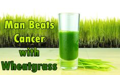True Story: 74-Year-Old with Weeks to Live Beats Cancer with Wheatgrass