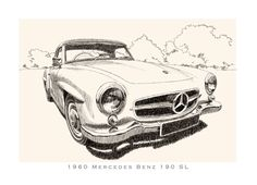 1960 Mercedes Benz 190 SL