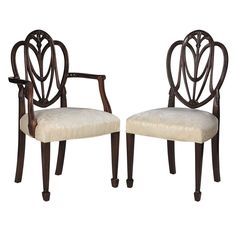 Eight George III Style Mahogany Dining Chairs