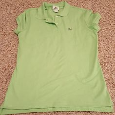 Lacoste Polo Size 44. Like new. Purchased from the lacoste outlet Lacoste Tops Tees - Short Sleeve