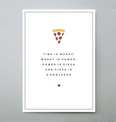 Parks and Recreation Print - April Pizza Prints Posters Wall Art | Poster…