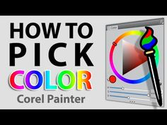 How To Pick Color (Corel Painter X3 Tutorial) - YouTube