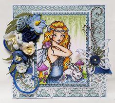 Ching-Chou Kuik Digital Stamps Inspiration and Challenge Blog: Sunday Inspiration Post by RoRa