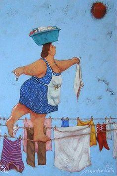 Galleria 4 – dal 2014 al 2016 – Lisandro Rota Curvy Art, Plus Size Art, Illustration, Art Drawings, Naive Art, Painting, Cute Art, Whimsical Art, Funny Art