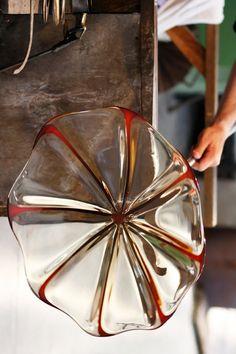Murano glass blowing in Venice...       ᘡղbᘠ