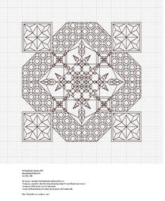 Dancing Diamonds-Pattern