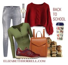 """LIZ"" by elizabethhorrell ❤ liked on Polyvore featuring Chicwish, Pierre Balmain, Doublju, Loeffler Randall, New Balance, Kate Spade and Movado"