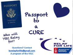 Kicking Off Relay for Life 2014: Passport to a Cure by Shannon Capozzola