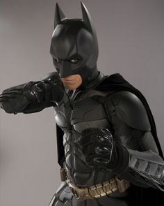 Christian Bale as The Dark Knight Real Batman, Batman Art, Batman And Superman, Supergirl Superman, Batman Stuff, The Dark Knight Trilogy, Batman The Dark Knight, Dc Heroes, Comic Book Heroes