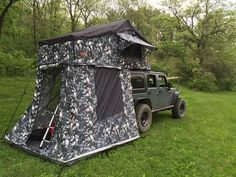 Nice Siberian Camo model Autana roof top tent / Jeep setup. Photo by Corey Hackett & Jeeps can handle being Tent Topped with a wide range of our roof ...