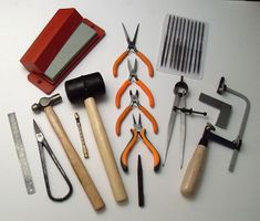 Stock up on supplies ready for the summer break. We are fast approaching the end of term so now is the time to get ready for making at your home studio. At Silverpetal we have lots of great tool kits at great prices. Including beginner's tool and soldering kits stone setting kits and PMC tool kits. We also stock lots of stones beads metals chains and consumables like saw blades drill bits and sand paper packs. So stock up today - and support your local studio shop.