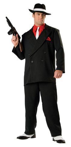 Men's 1920s Gangster Costume