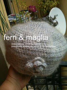cappello mohair