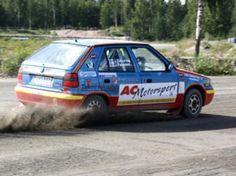 Rallycross-tutustumisajo, mikäs sen hauskempaa kun kurvailla soratiellä! Avon, Ford, Vehicles, Ford Trucks, Ford Expedition, Vehicle