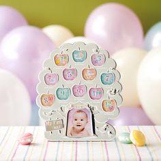 「12カ月ベビーフレーム」に、大きなリンゴの木が仲間入り。【12ヶ月ベビーフレーム りんごの木】
