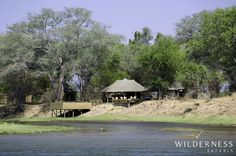 Ruckomechi Camp - Following on from our Zambian camps, Ruckomechi Camp has aimed to be as environmentally friendly as possible  #Africa #Safari #Zimbabwe #WildernessSafaris