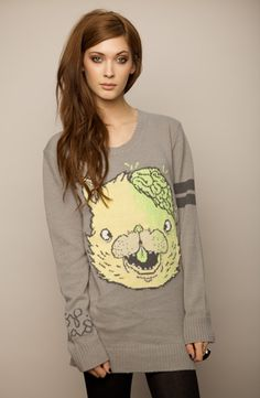 Drop Dead Clothing Cat Sweater