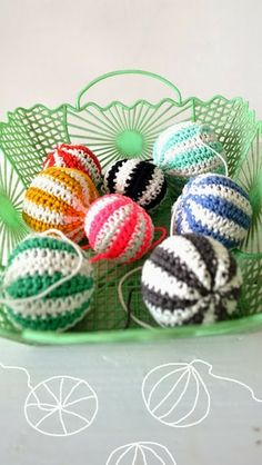 ingthings: Kind of Xmass balls DIY. It's June and time to think towards Christmas!!