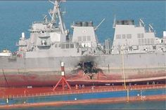 USS Cole bombing Picture