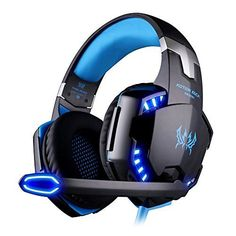 0a0b16d91dd EasySMX Comfortable LED Stereo Gaming LED Lighting Over-Ear Headphone  Headset Headband with Mic for PC Computer Game with Noise Cancelling    Volume Control