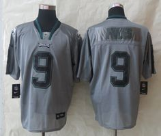 Cheap Wholesale 2014 Regular Season Mens Philadelphia Eagles #9 Nick Foles Nike Lights Out Grey Elite Jersey Size 40-56 Instock,Factory Price,Free Shipping,Contact US